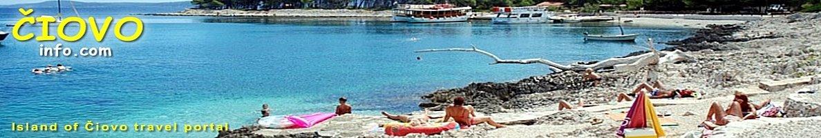 plages Ciovo Croatie