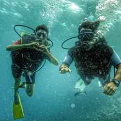 Diving in Ciovo